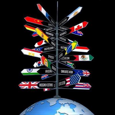 ubicacion de los paises del mundo