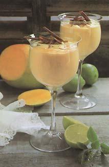 test de postres origen de postres foto de postres - crema de mango