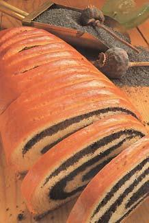test de postres origen de postres foto de postres - rollo con semillas de amapola