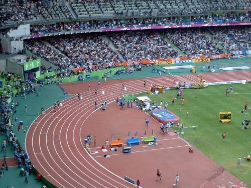 test de atletismo imagenes campeonato del mundo de atletismo 2003