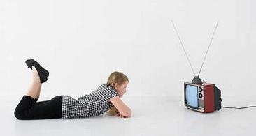 test tienes buen sentido del humor imagen mirando la tv