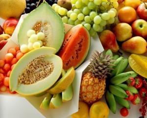 test sobre alimentacion y salud imagen frutas