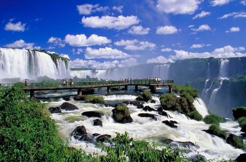 test destinos turisticos de america latina imagen cataratas iguazu