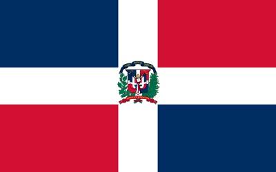 de que pais es la bandera - republica dominicana