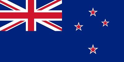 de que pais es la bandera - nueva zelanda