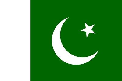 de que pais es la bandera - pakistan