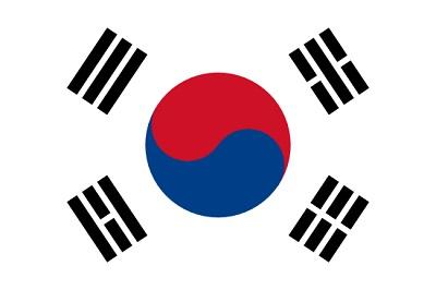 de que pais es la bandera - corea del sur