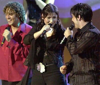 festival de la cancion de eurovision test - imagen de rosa david bisbal y bustamante