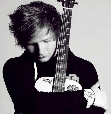 foto de ed sheeran con guitarra