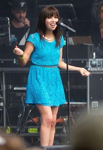 imagen de la cantante canadiense Carly Rae Jepsen