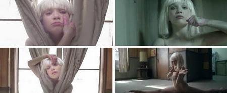 imagenes del video con la bailarina Maddie Ziegler