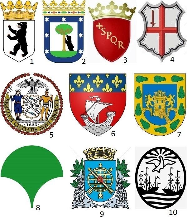 escudos de ciudades del mundo
