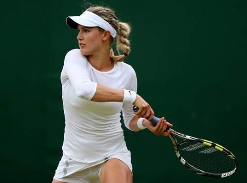 fotos de tenistas lindas