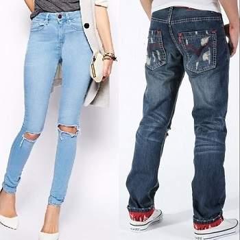 test de los jeans foto