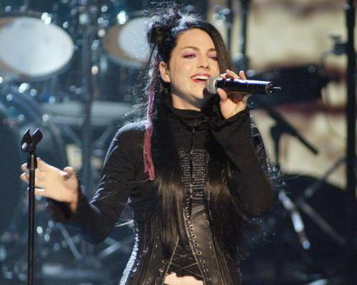 hard rock and metal frontwomen - vocalista de evanescence